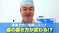 歯磨き粉の種類によって磨き方が違うのはご存知ですか?|あなたの名医を動画で探せる「ザ ドクターズ」